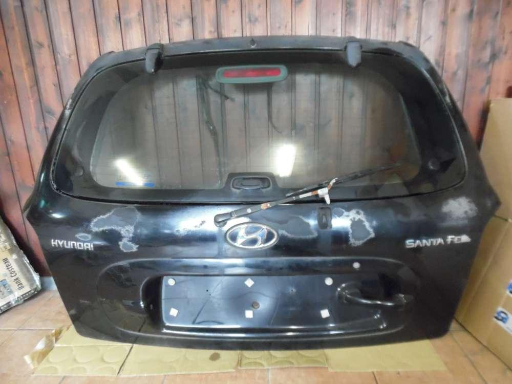 Hyundai Santa Fe Heckklappe Heckdeckel Schwarz