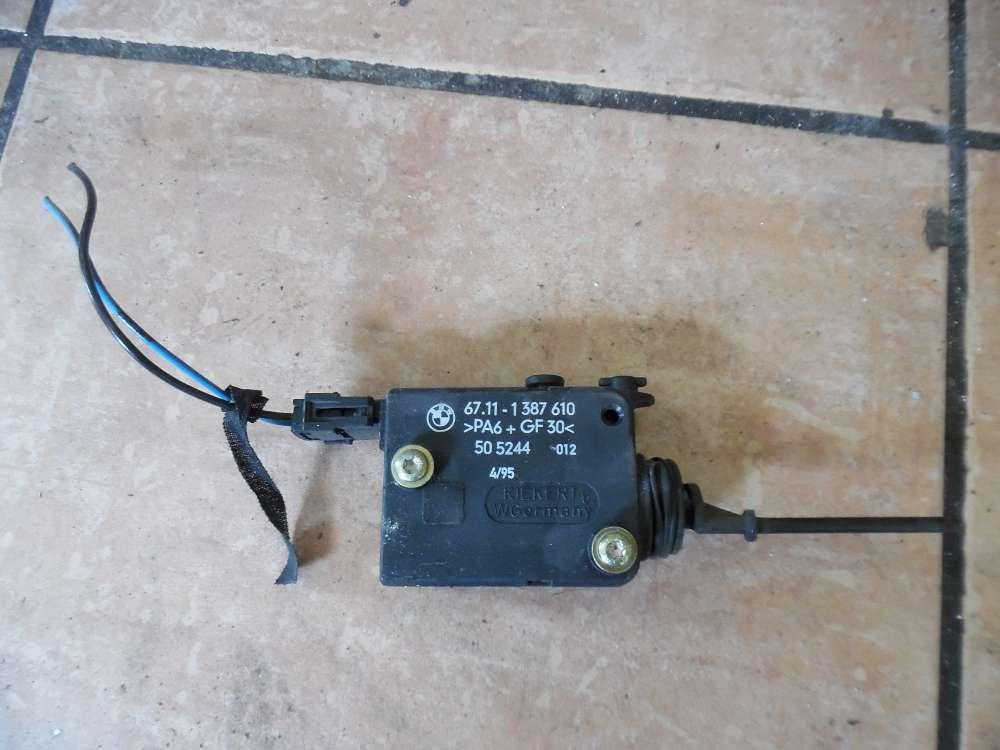 BMW E36 3er ZV Stellmotor für Tankdeckel Tank 1387610