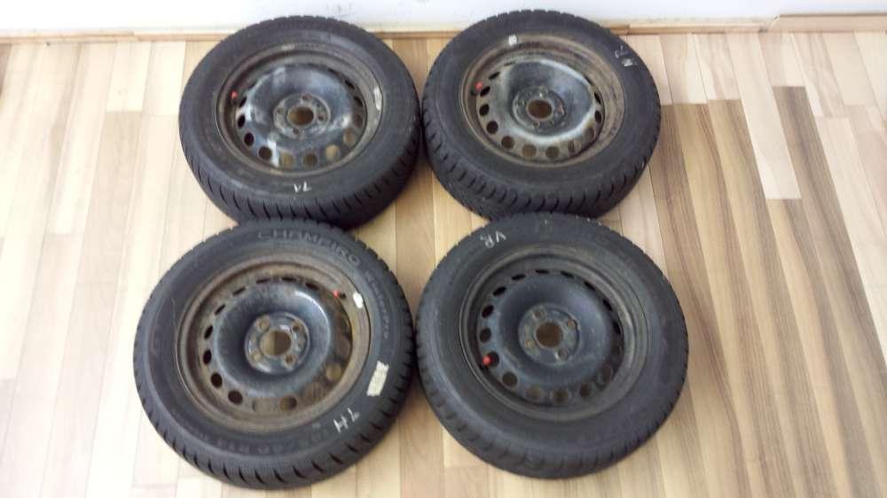 4xWinterreifen Stahlfelgen für Fiat Punto 185/60 R14 82T  5.5Jx14  Et35 DOT 2112