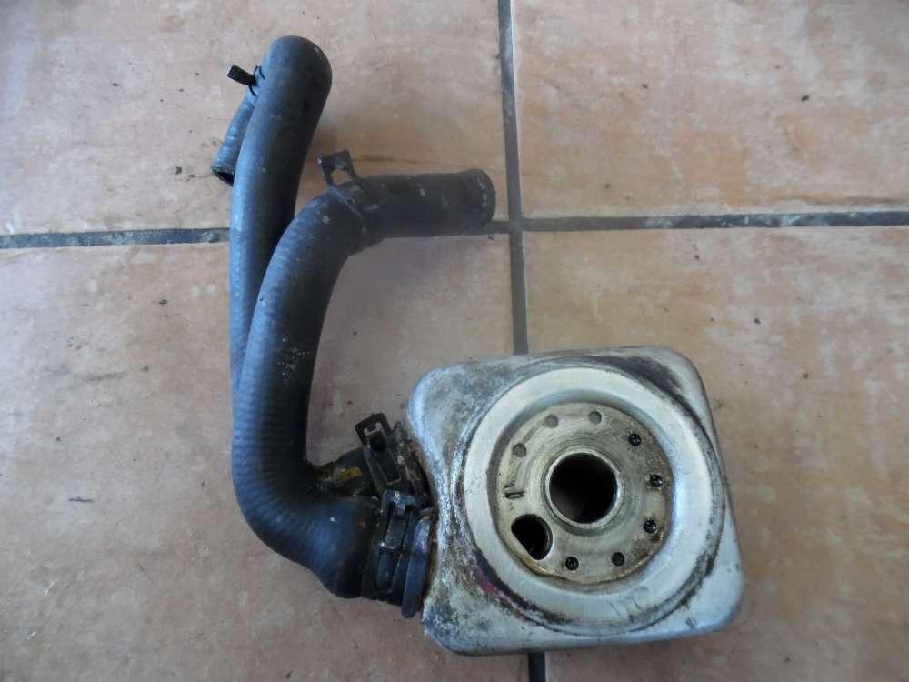 VW Passat 3B Motor Wärmetauscher Ölkühler mit Schlauch