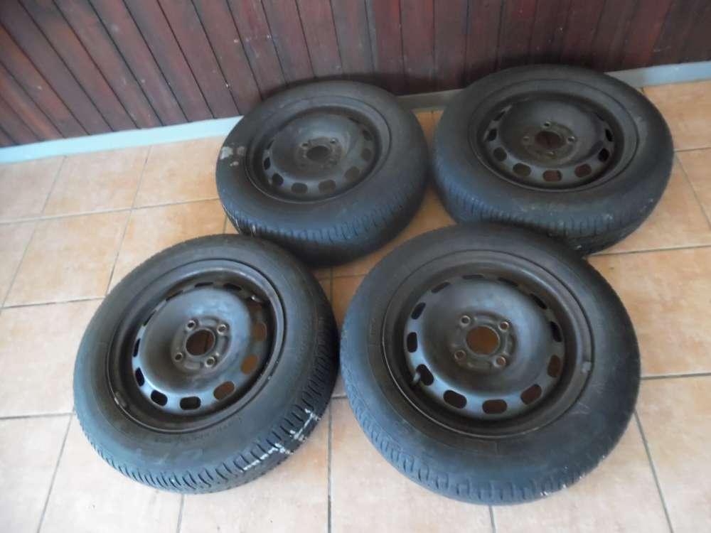 4x Sommerreifen Stahlfelgen Goodyear  Ford Fiesta 175/65 R14 82T   5,5Jx14x47,5