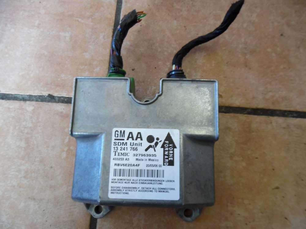 Opel Zafira B Bj:2007 Airbag Steuergerät Airbagsteuergerät 13241766 AA