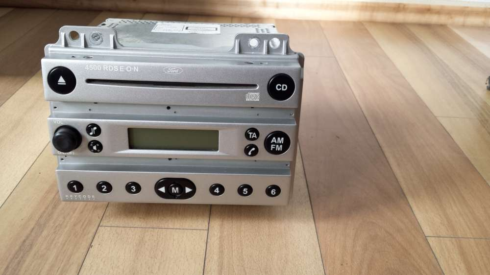 Original Ford Radio CD Player 4500 RDS E.O.N   4S61-18C815-AA