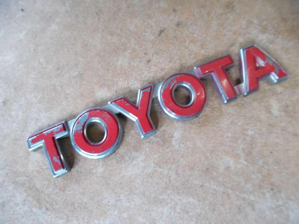Toyota Yaris P1 Heck Abzeichen Kofferraum Emblem