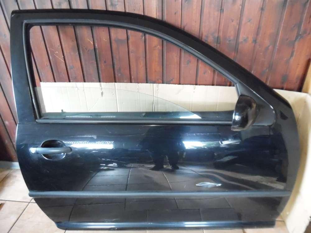 VW Golf IV 1J Limousine 3-Türer Tür Vorne Rechts Schwarz