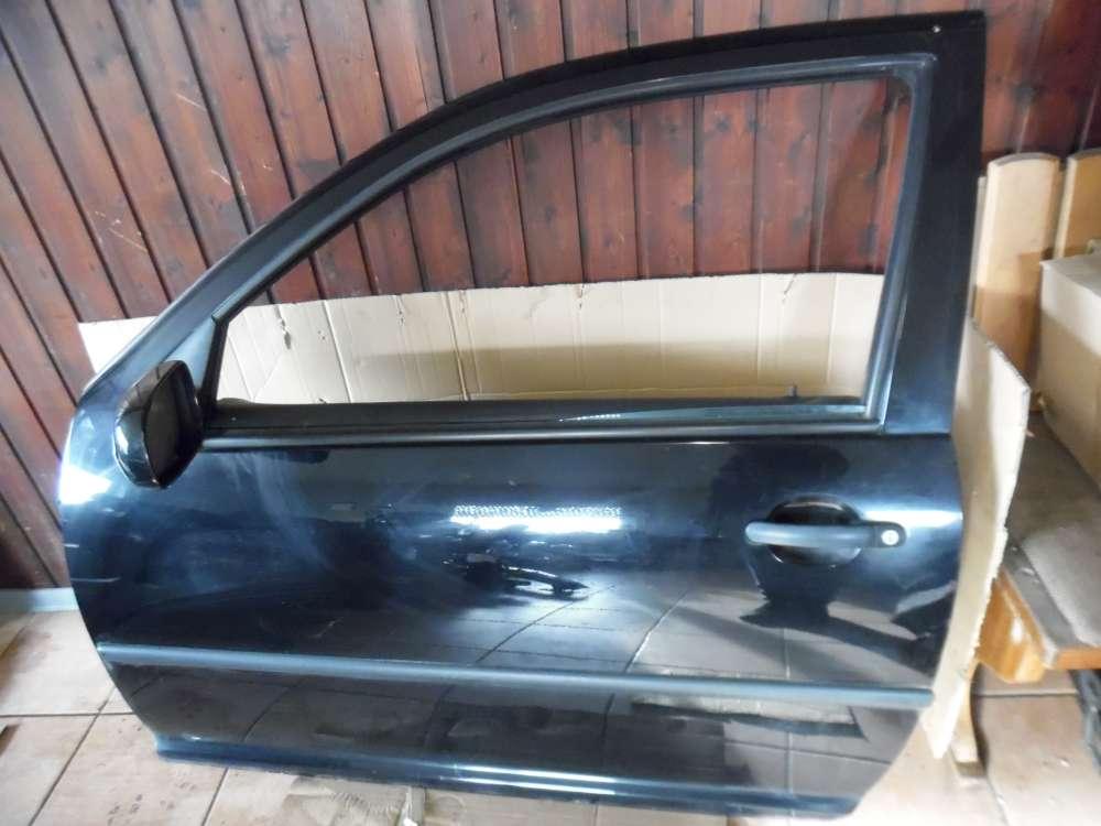 VW Golf IV 1J Limousine 3-Türer Tür Vorne Links Schwarz