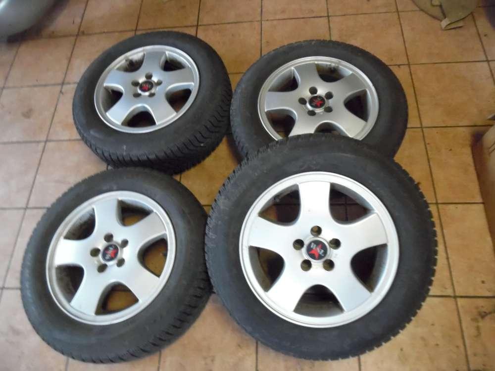 4 x Alufelgen mit Reifen Winter SnowControl 195 65R15 91T M+S   6,5Jx15 H2  ET 37  6515WSC
