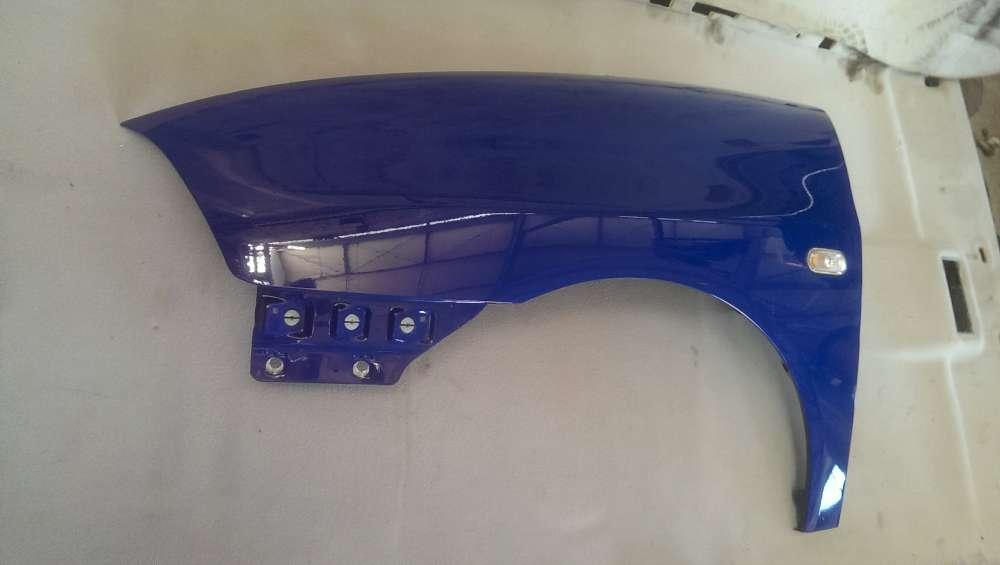 Kotflügel Links Seat Ibiza Bj 2005 6L blau Lackcode : LS5G Lacknummer BKY