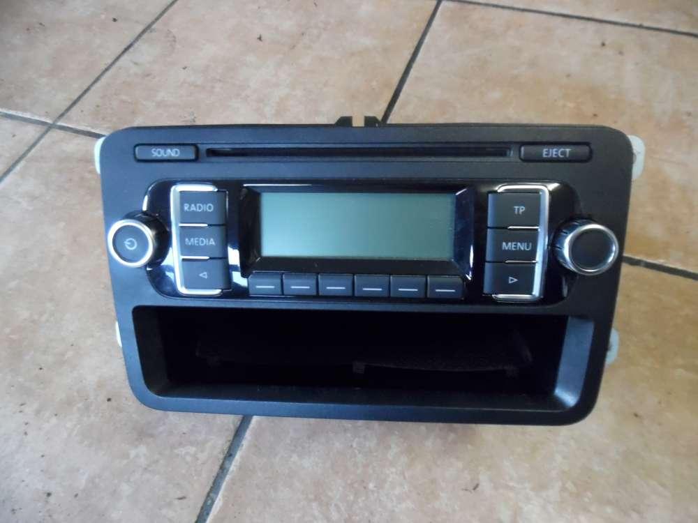 VW Golf 6 VI Radio CD 1K0035156B RCD 210 MP3