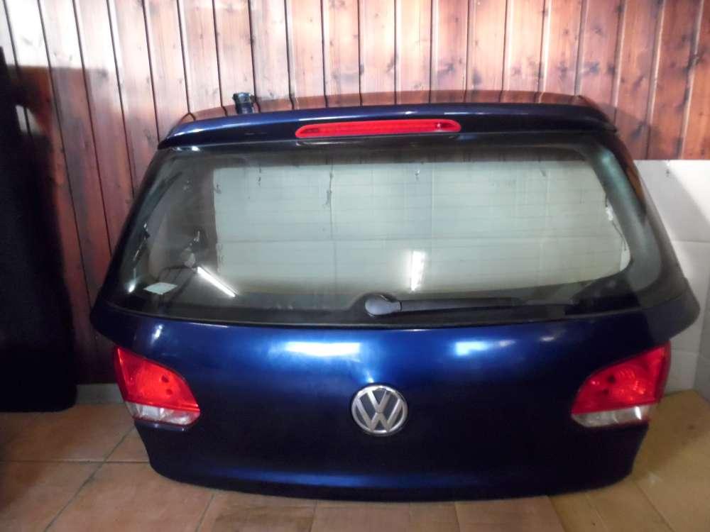 VW Golf 6 Heckklappe Kofferraumklappe Blue Metallic : LD5Q