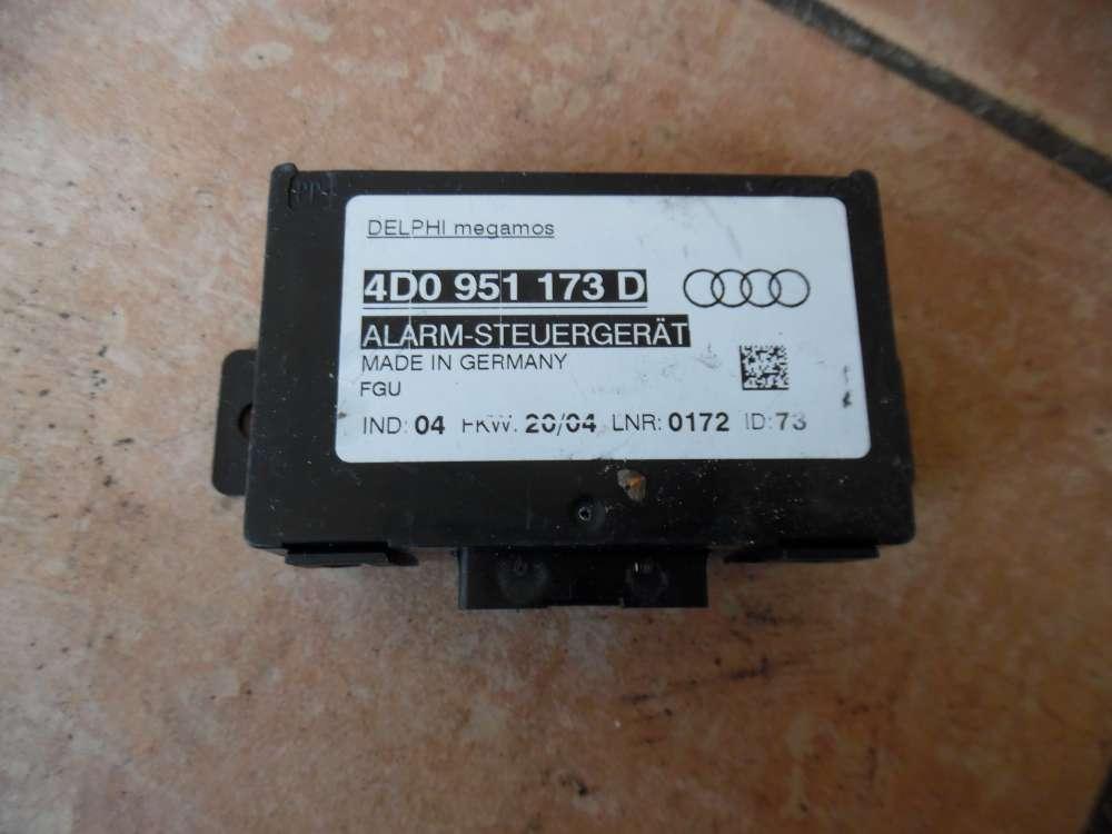 Audi A6 Steuergerät Alarmanlage 4D0951173D
