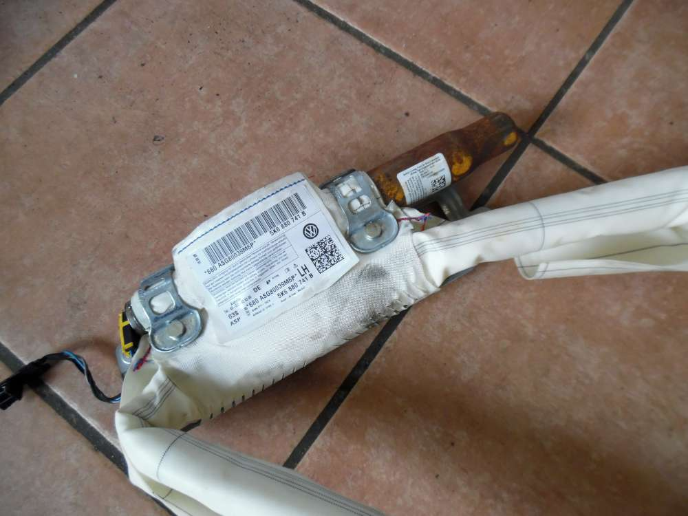 VW Golf 6 VI Kopfairbag Dach Airbag Links 5K6880741B