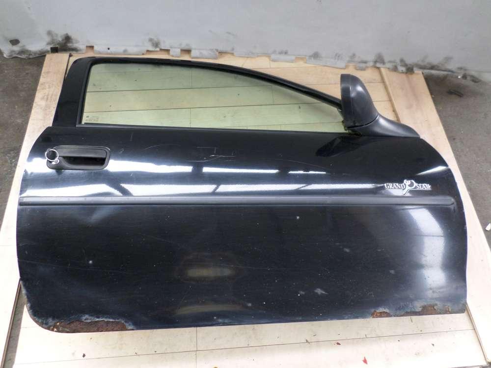 Opel Corsa B Bj 1996 Beifahrertür Tür vorne rechts Schwarz Farbcode: Z200