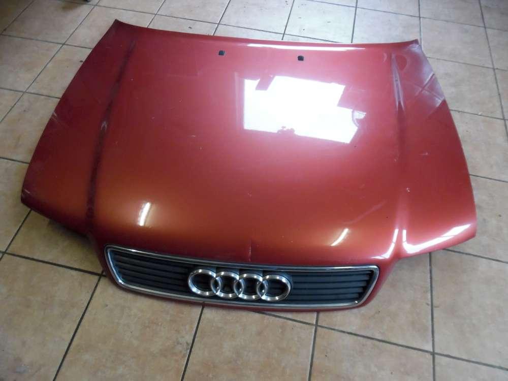 Audi A4 5B Motorhaube Haube Farbcod: Laserrot LY3H