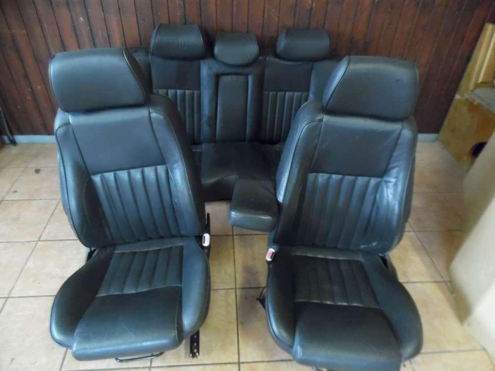 Alfa Romeo 156 Ledersitze Sitze Komplett mit Armlehne Schwarz