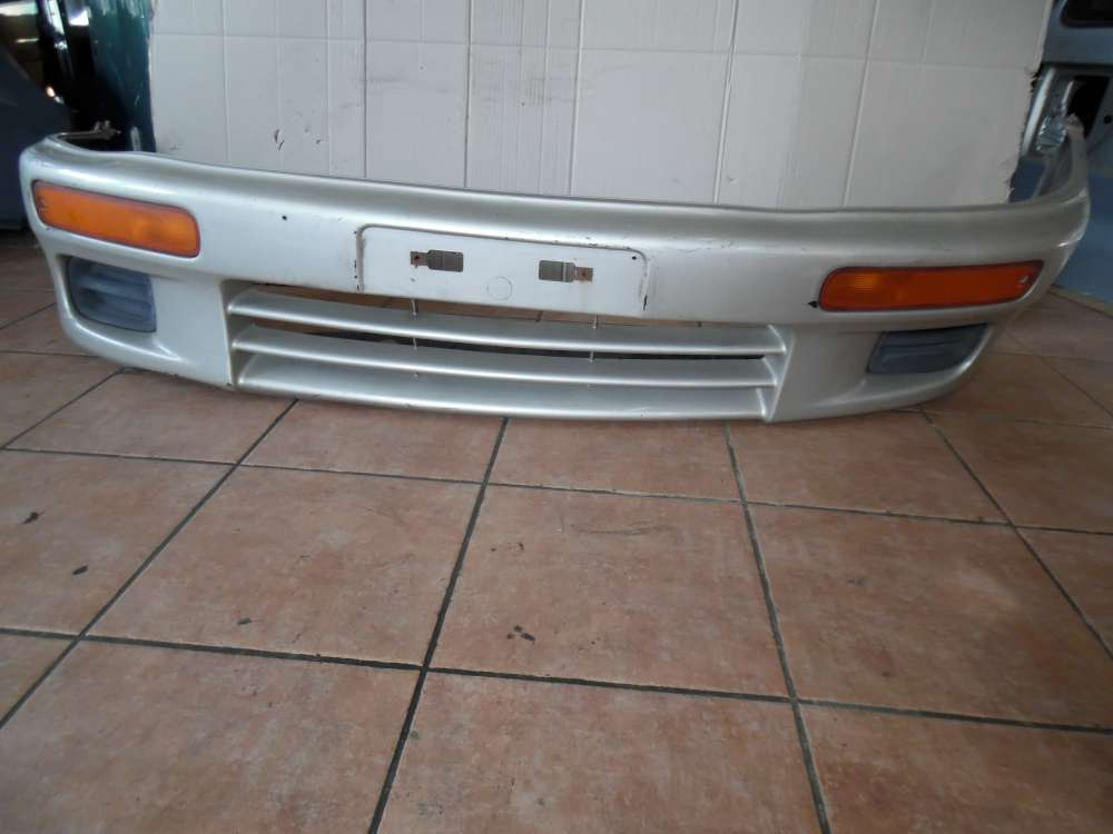 Mazda 323 BA Stoßstange Vorne Farbe Silber Farbcode 4F
