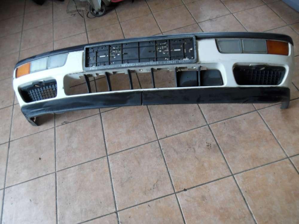VW Golf 3 Stoßstange Stoßfänger Vorne weiß 1H6807217