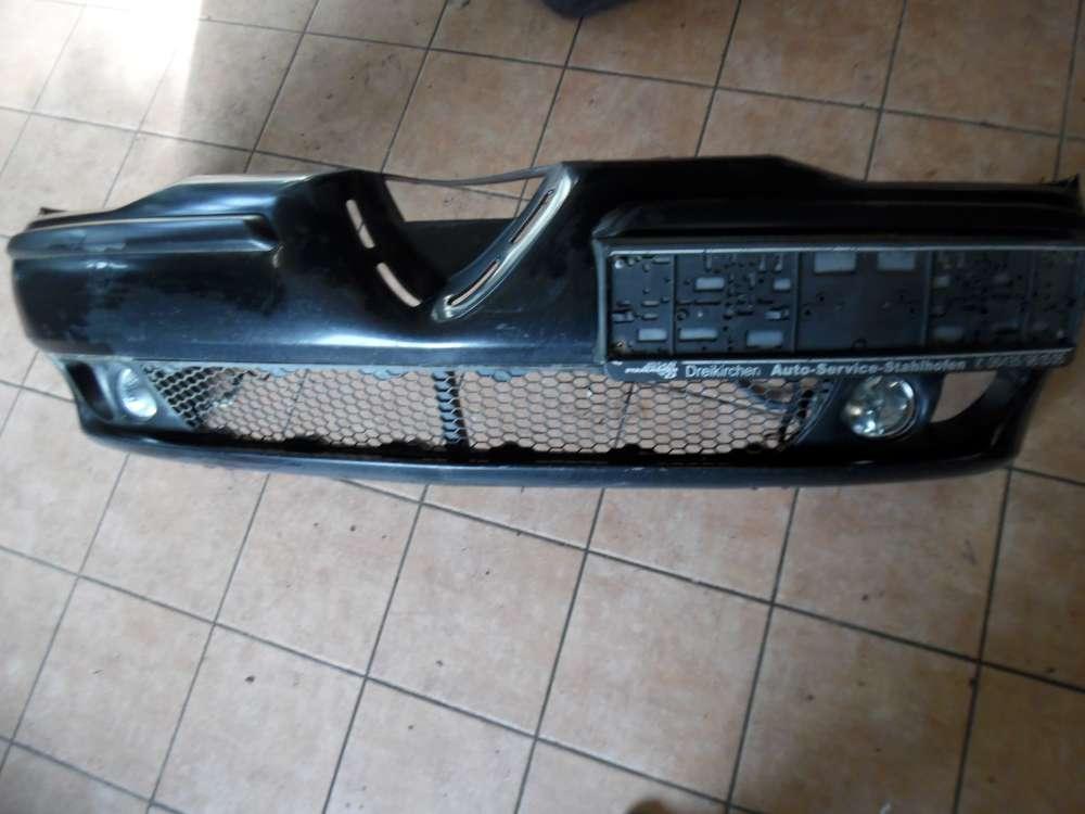 Alfa Romeo 156 Stoßstange Vorne Frontschürze schwarz