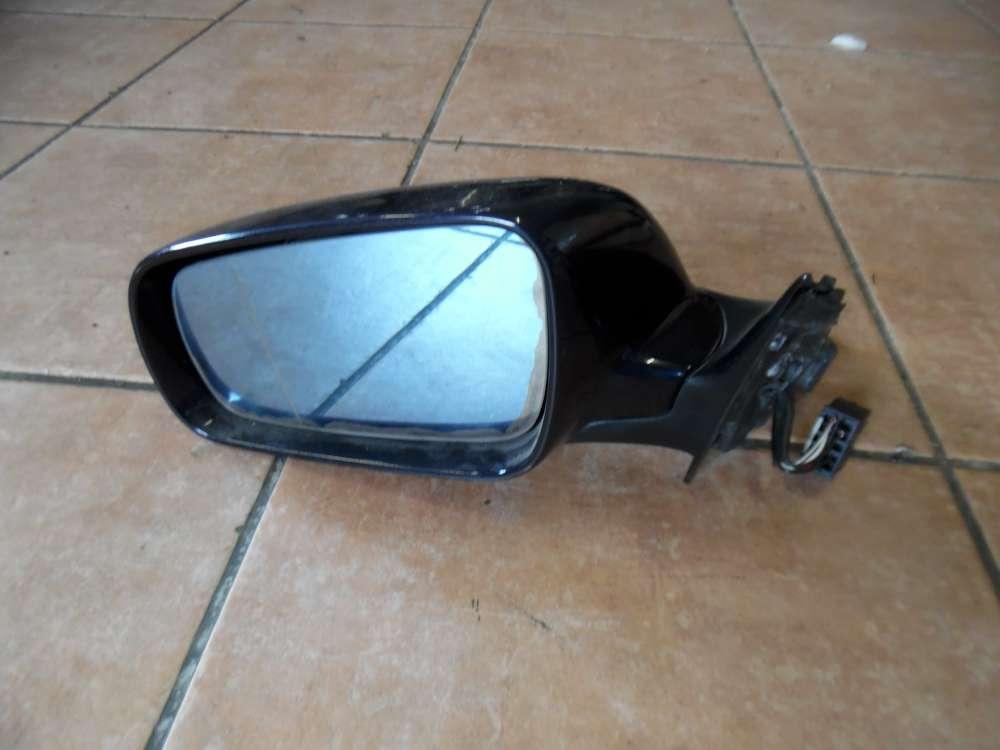 Audi A4 B5 Außenspiegel Spiegel Links elektrisch Schwarz RSO225401