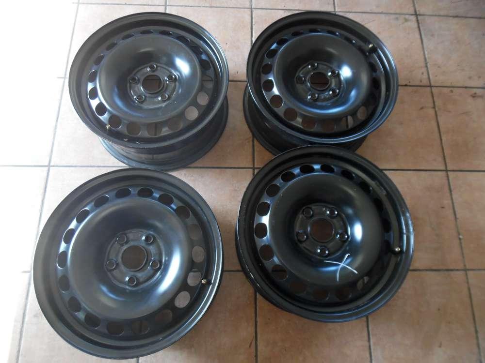 4x Stahlfelge Für VW Passat 3C 6,5Jx16H2  ET42  KBA43930 3C0601027BE