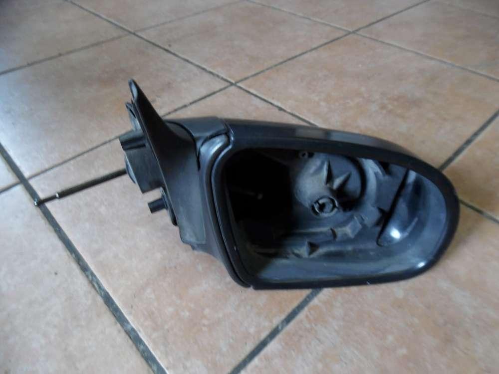 Opel Corsa B Außenspiegel ohne spiegel Links Schwarz 008062349