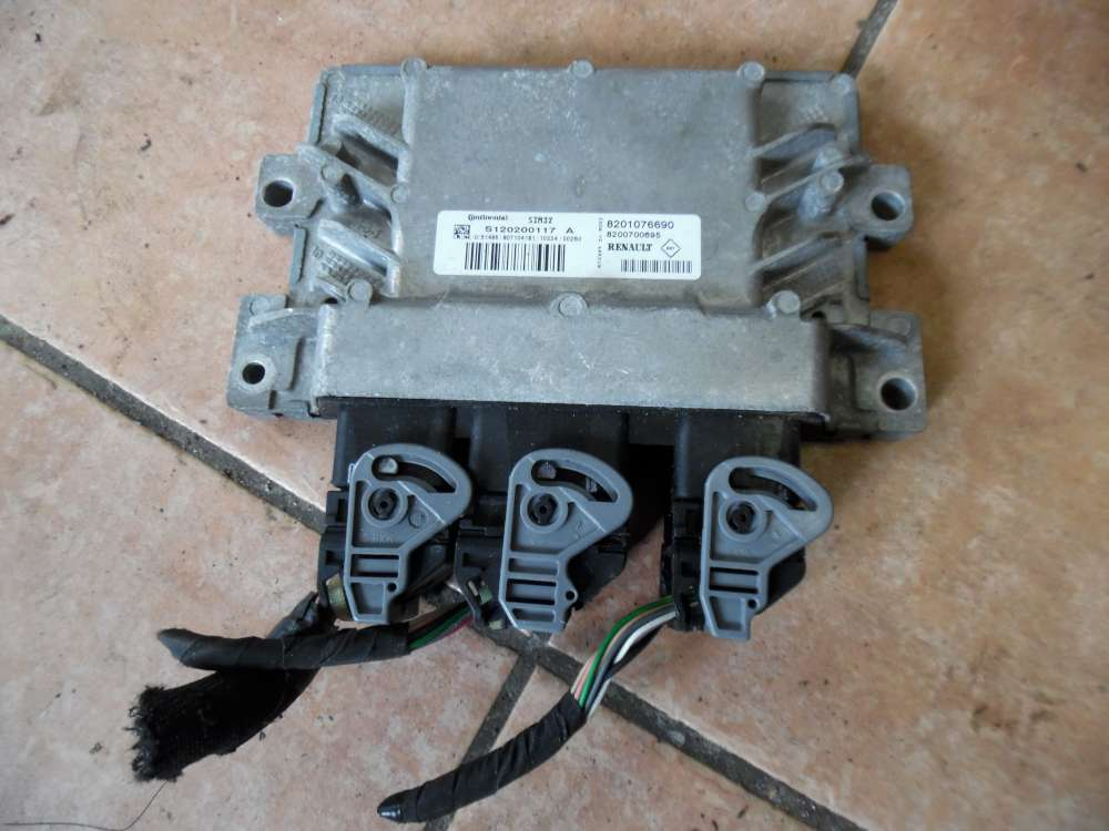 Renault Twingo II Motorsteuergerät Steuergerät 8201076690 S120200117