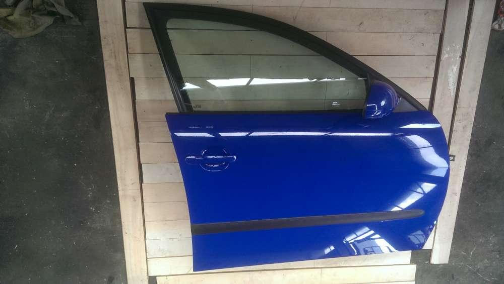 Seat Ibiza  6L Bj.05 Tür vorne rechts Beifahrertür4/5 Türer Blau LS5G Top