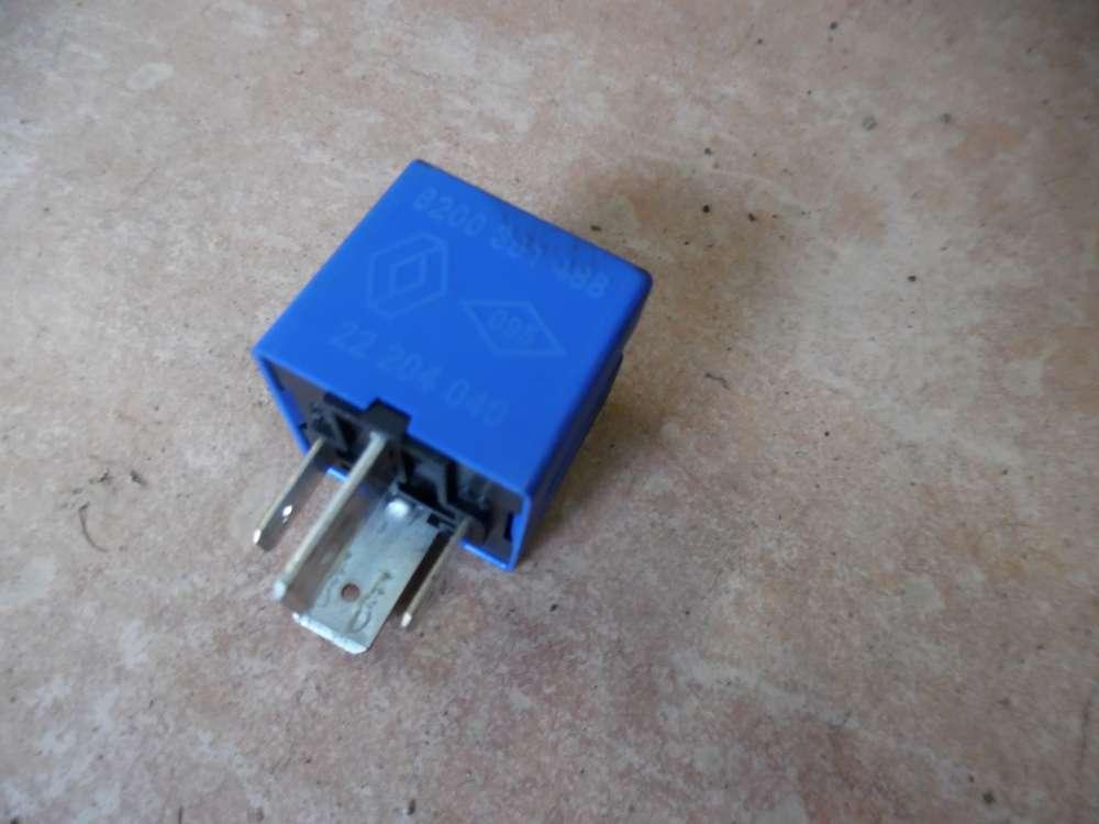 Renault Twingo II Relais blau 8200351488  22204040