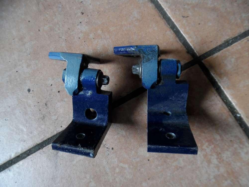 Opel Corsa D Türscharnier Scharnier Hinten Links Farbecode: Blau Metro Y20Z