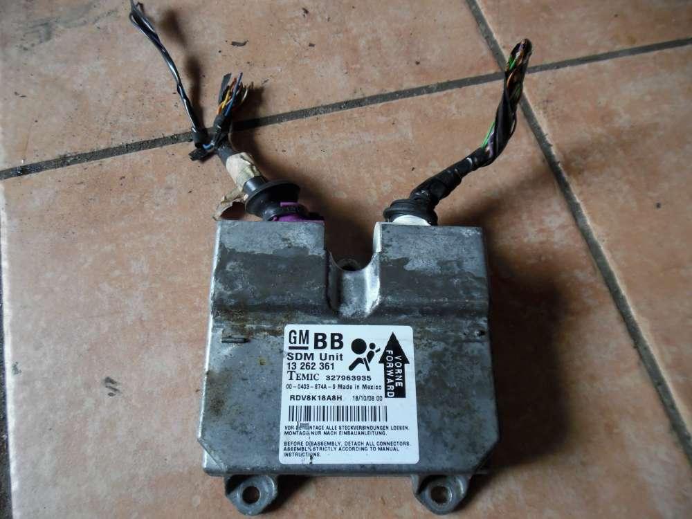 Opel Corsa D Steuergerät Airbagsteuergerät 13262361