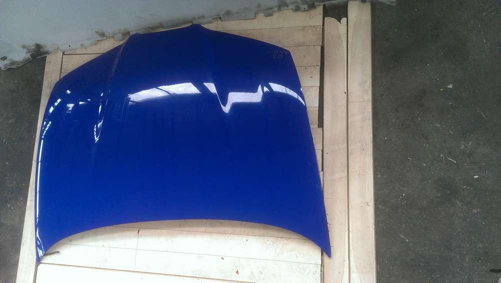 Original  Motorhaube Seat Ibiza 6L Blau LS5G Top  Bj 2005