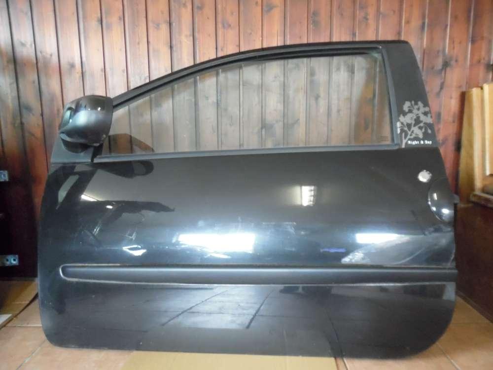 Renault Twingo II Tür Vorne links Schwarz Farbcod: NV676