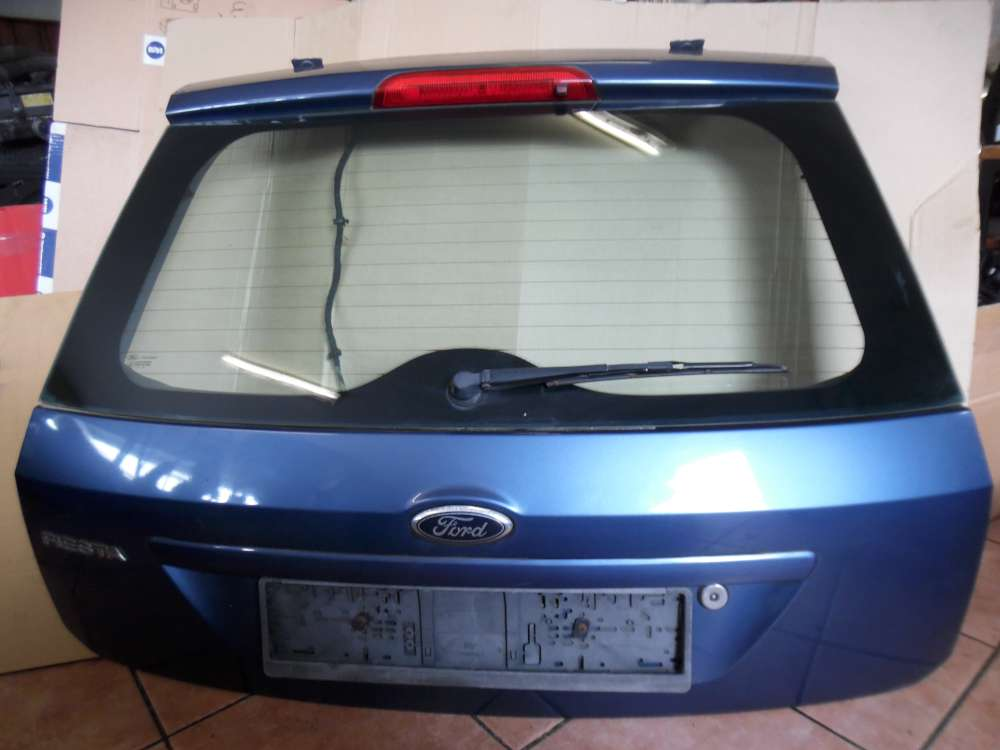 Ford Fiesta V Heckklappe Kofferraumdeckel Blau 44