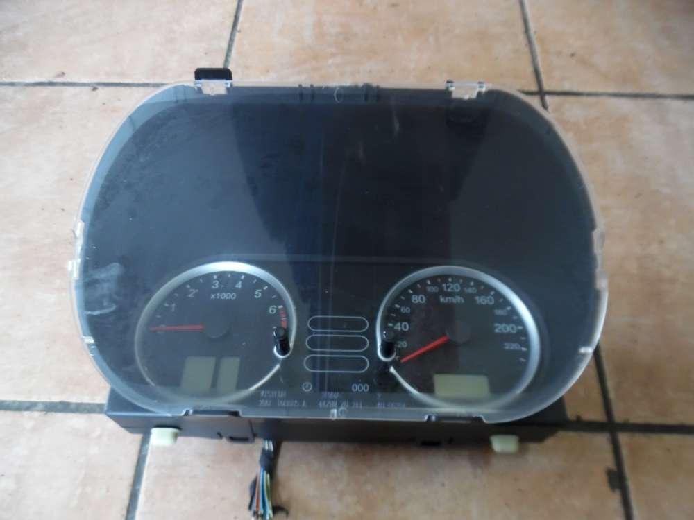 Ford Fiesta V Tacho Kombiinstrument 153697-KM  2S6F10A855A