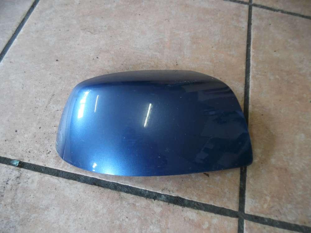 Ford Fiesta V Abdeckung für Außenspiegel Rechts Blau 489-102