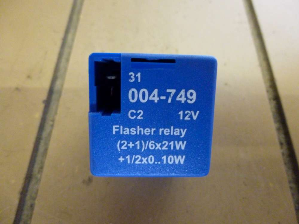 Ford Mondeo Flasher Relay 12V  004-749  /  004749