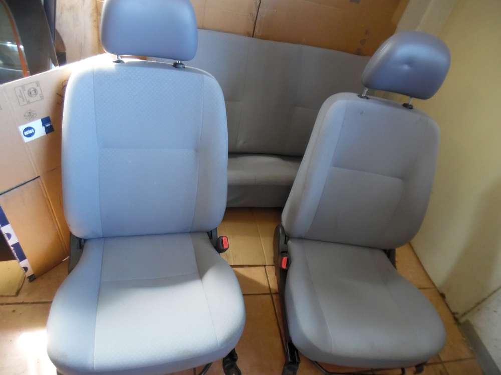 Daihatsu Cuore VI Sitze Innenausstattung Komplett Stoff grau
