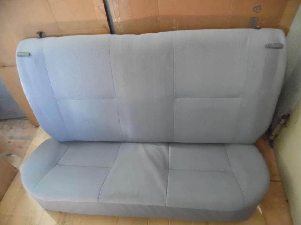 Daihatsu Cuore VI Rücksitz Rücksitzbank Sitzbank Stoff grau