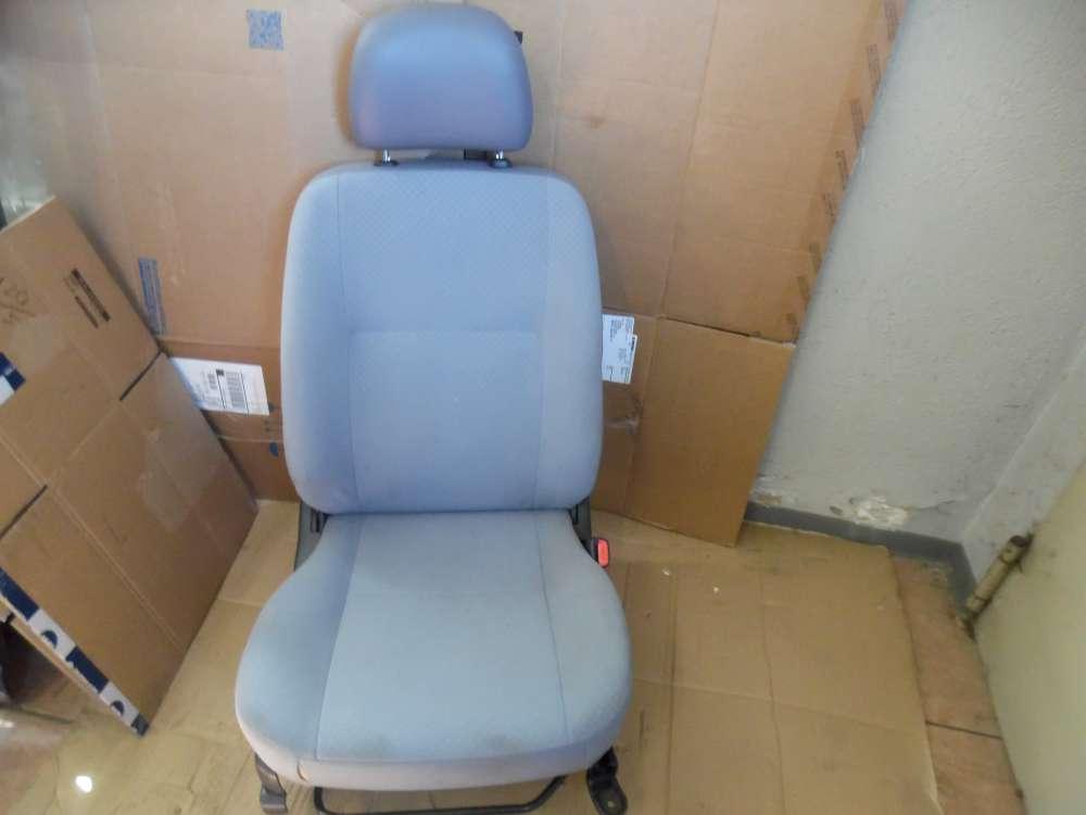 Daihatsu Cuore VI Sitz Beifahrersitz Vorne Rechts Stoff grau