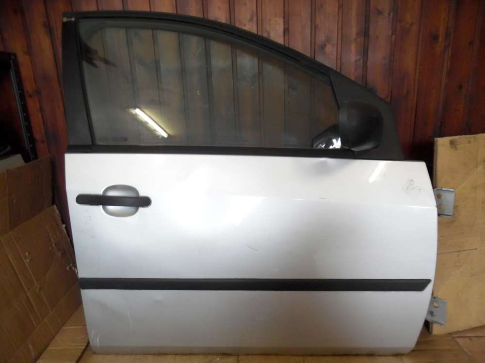 Ford Fiesta V Tür Vorne Rechts grau Farbcode : 62