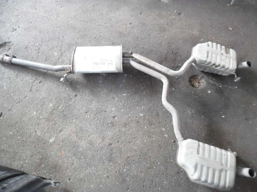 Audi A4 8E Mittelschalldämpfer Endschalldämpfer 8E0119AA 8E0253511 8E0253611