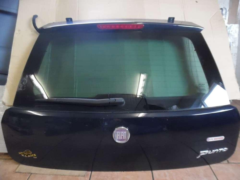 Fiat Punto 199 Heckklappe Kofferraumdeckel blau Farbcode : C403