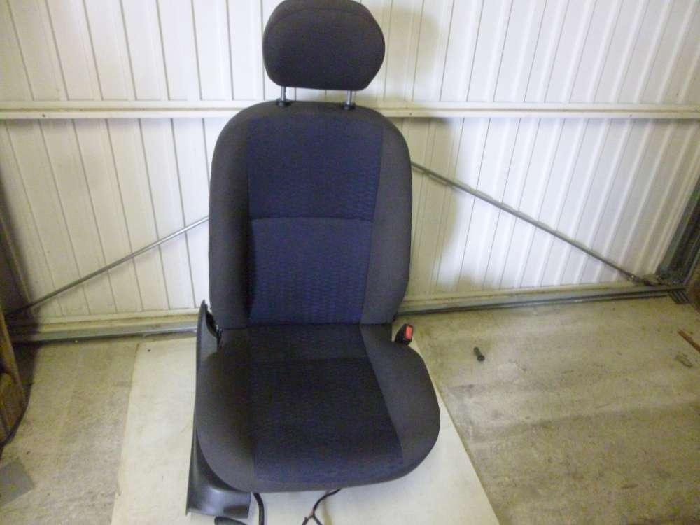 Ford Focus Fahrersitz Sitz Vorne Rechts Grau und Dunkelblau