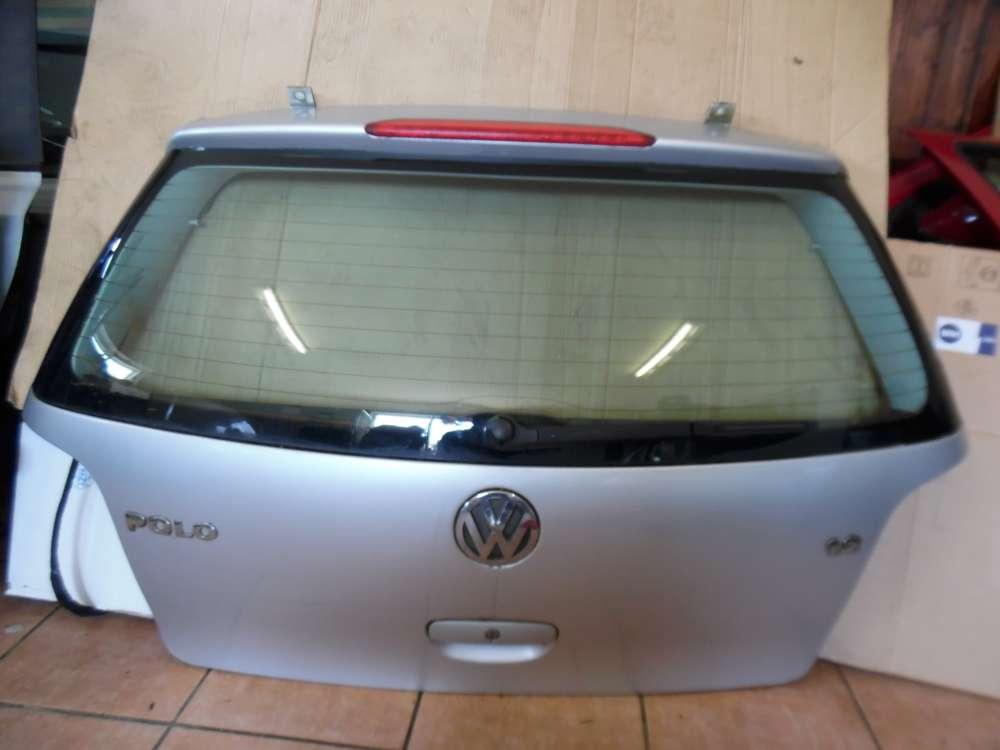VW Polo 9N Heckklappe Heckdeckel Silber LA7W