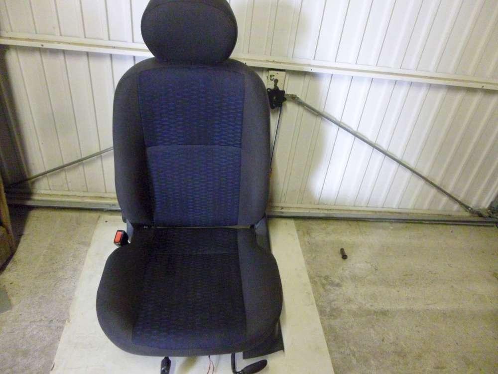 Ford Focus Beifahrersitz Sitz Vorne Links Grau und Dunkel Blau