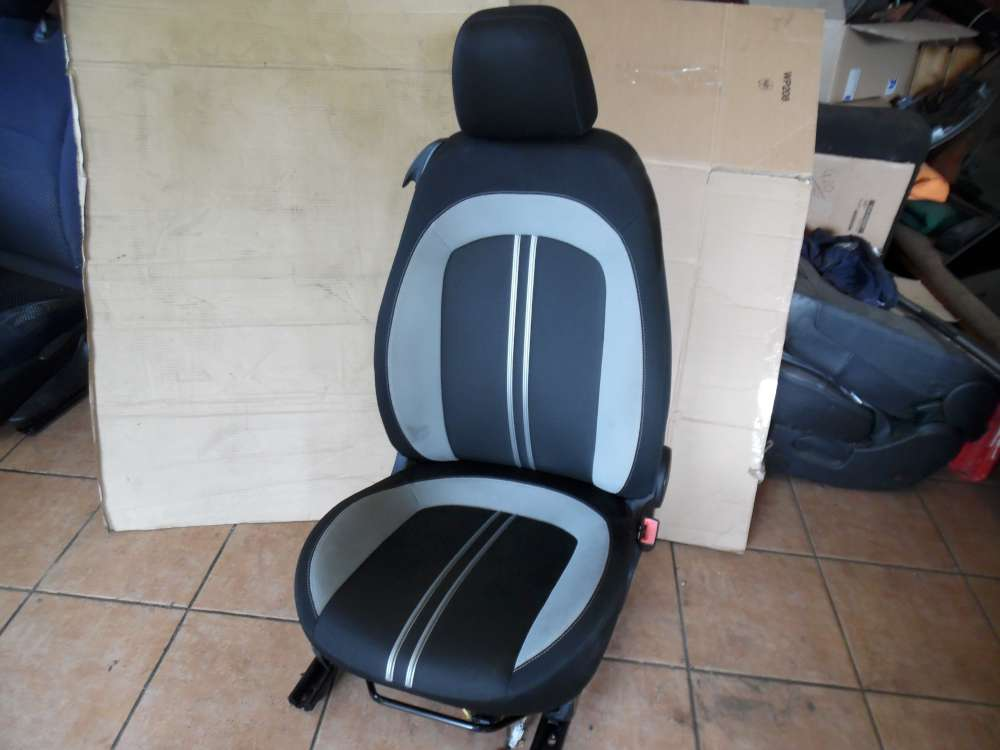 Fiat Punto 199 Sitz Beifahrersitz Vorne Rechts Stoff Schwarz