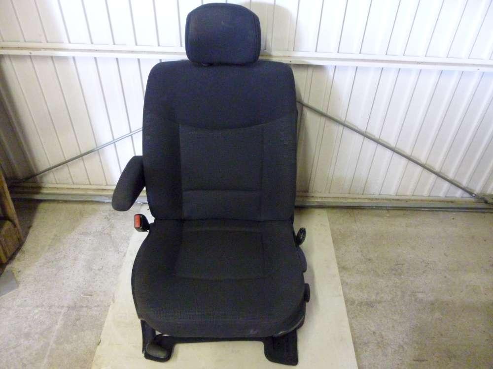 Renault Espace Fahrersitz Sitz Vorne Links Dunkelgrau