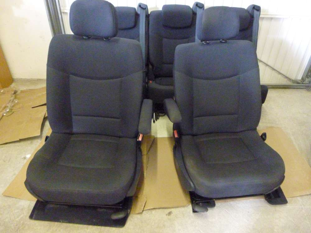Renault Espace IV Bj:2004 Innenausstattung Sitze dunkelgrau