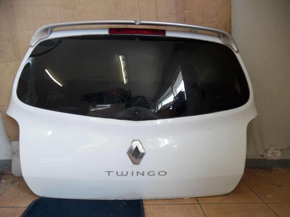 Renault Twingo Heckklappe Heckscheibe Weiß Weiß Farbcode : OV369