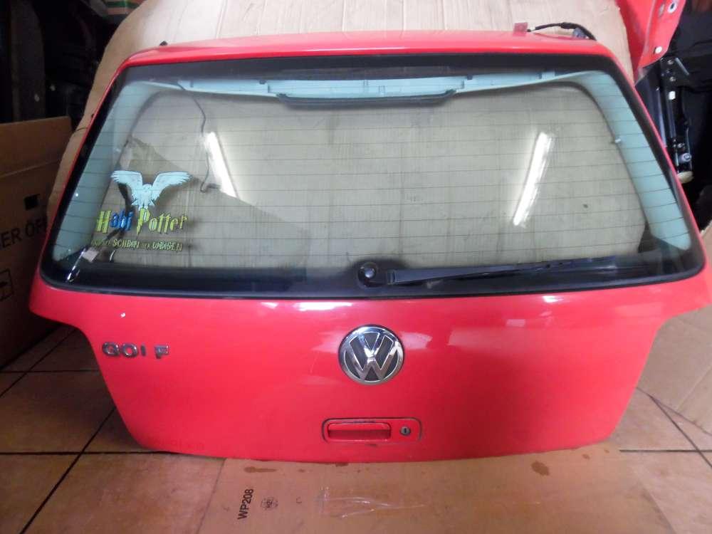 VW Golf 4 Heckklappe Kofferraumklappe Rot Farbcode : LP3G